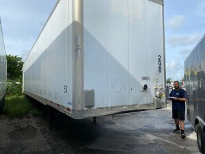 2006 VINTAGE TRAILER - VIN #5V8VA53226M603219 - WHITE - 53' (LOCATED IN DAVIE, FL) (T-R6-298)