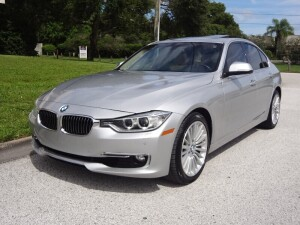 2013 BMW 328i - WBA3C1G54DNR48998 - SILVER - 80,726 MILES ON ODOMETER (LOCATED IN DAVIE, FL)