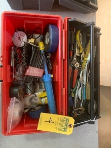 TOOL BOX WITH CONTENTS (LOCATED IN INMAN SC)
