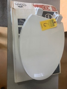CHURCH ELONGATED TOILET SEATS (NEW) (LOCATED IN INMAN SC)