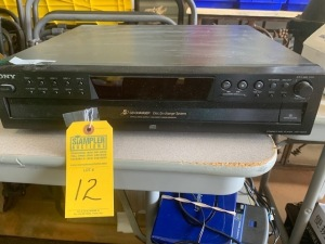 SONY 5 CD CHANGER (LOCATED IN INMAN SC)