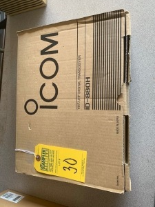 ICOM 10880H VHF/UHF DIGITAL TRANSCEIVER (NEW IN BOX) (LOCATED IN INMAN SC)
