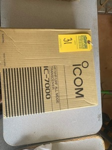 ICOM IC7000 HF/VHF/UHF ALL MODE TRANSCEIVER (NEW IN BOX) (LOCATED IN INMAN SC)
