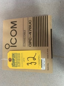 ICOM OPC478UC CLONING CABLE (NEW IN BOX) (LOCATED IN INMAN SC)