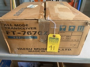 YAESU FT767GX ALL MODE TRANSCEIVER (NEW IN BOX) (LOCATED IN INMAN SC)