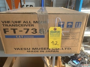 YAESU FT736 VHF/UHF ALL MODE TRANSCEIVER (NEW IN BOX) (LOCATED IN INMAN SC)