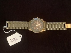 ACCUTIME STAINLESS STEEL WATCH