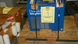 DONALDSON SD0150AP ULTRA FILTER DRYER - SERIAL No. 0724/19458/13 (2007)