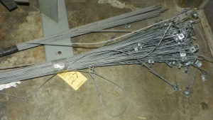 WIRE CEILING HANGERS FOR LIGHTING & DROP CEILING GRIDS