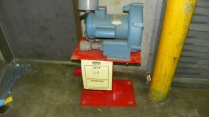 METEK DR454R58 PUMP WITH STAND (PART #036856)
